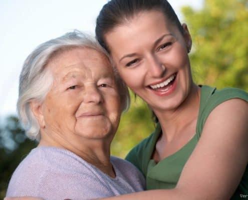 Edlerly women care