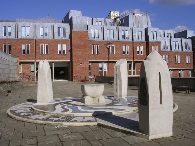 The Hampshire Jubilee Sculpture, Winchester city
