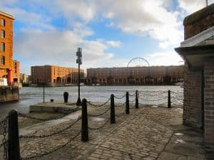 A picture showing Albert's Dock in Liverpool