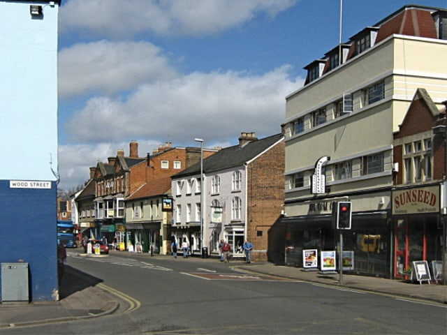 View on Bridge Street in Taunton