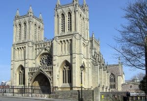 A picture showing Bristol Cathedral