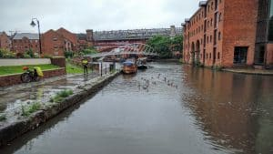 A picture showing Castlefield in Manchester