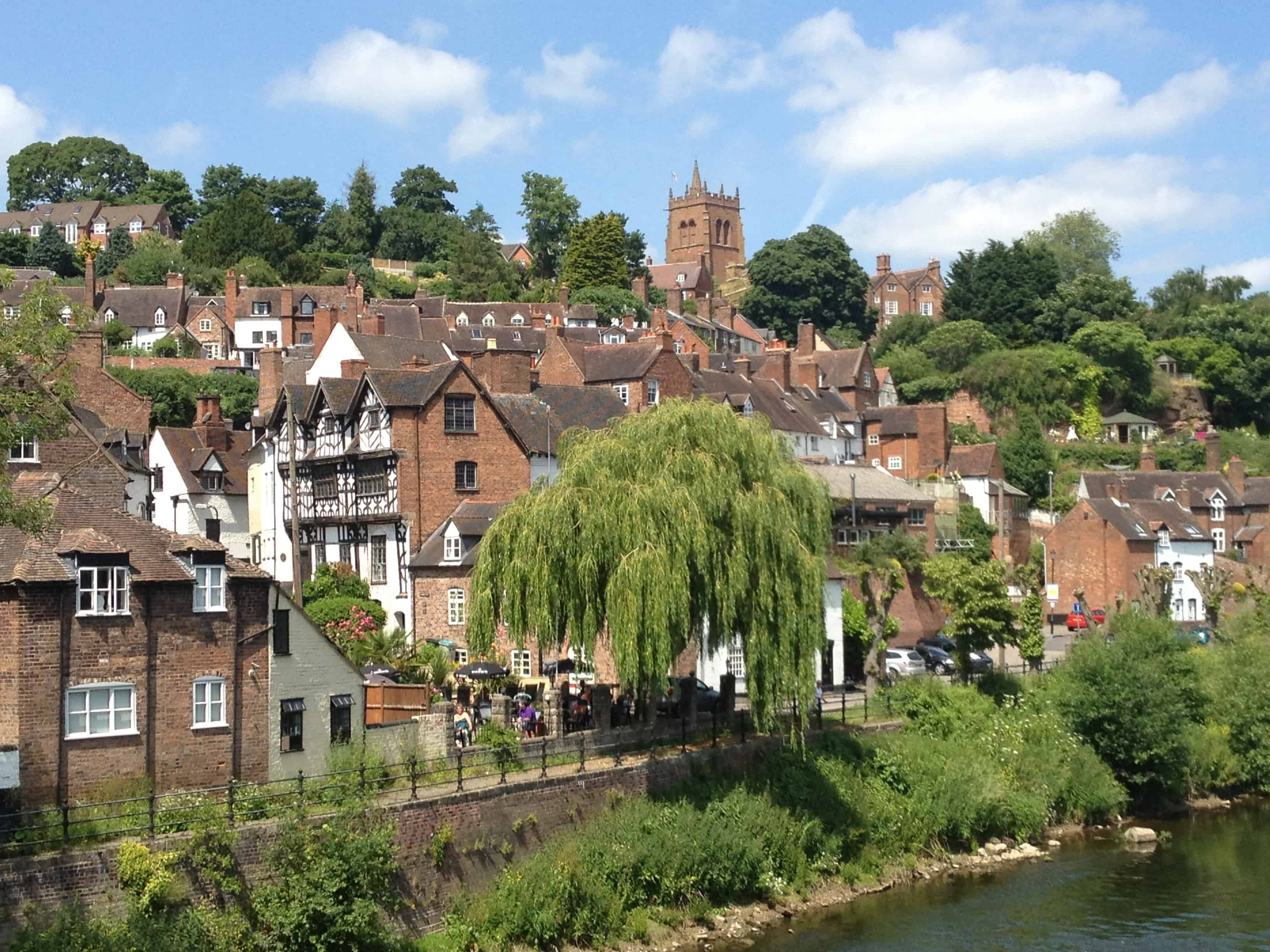 A picture showing Bridgnorth - High Town