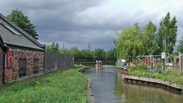Canal Junction in Stoke-on-Trent
