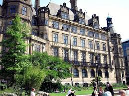 A picture showing Town Hall in Sheffield