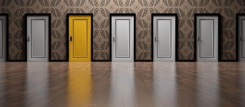 doors depicting choices