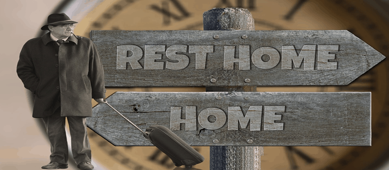 home and rest home signpost