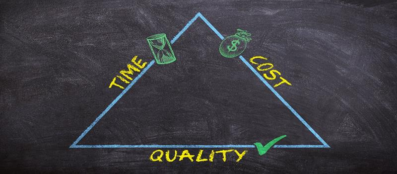 time-cost-quality triangle