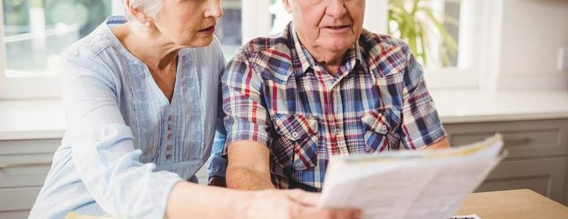 elderly people and bills