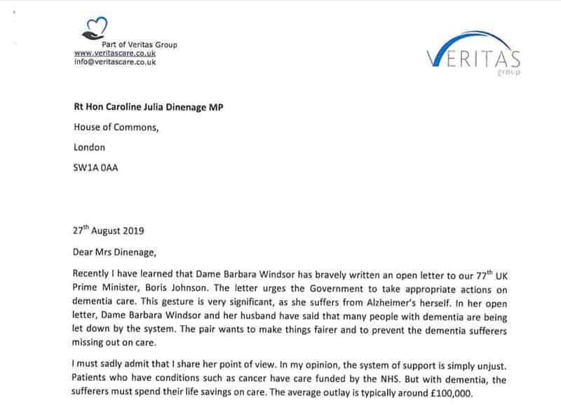 letter to mp - p1