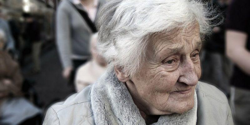 Elder who needs carer