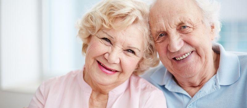 Happy elders
