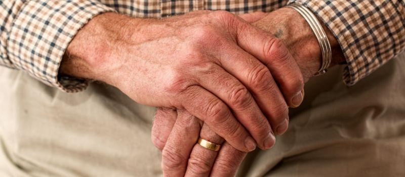 Elders hands