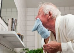 Elderly hygiene care