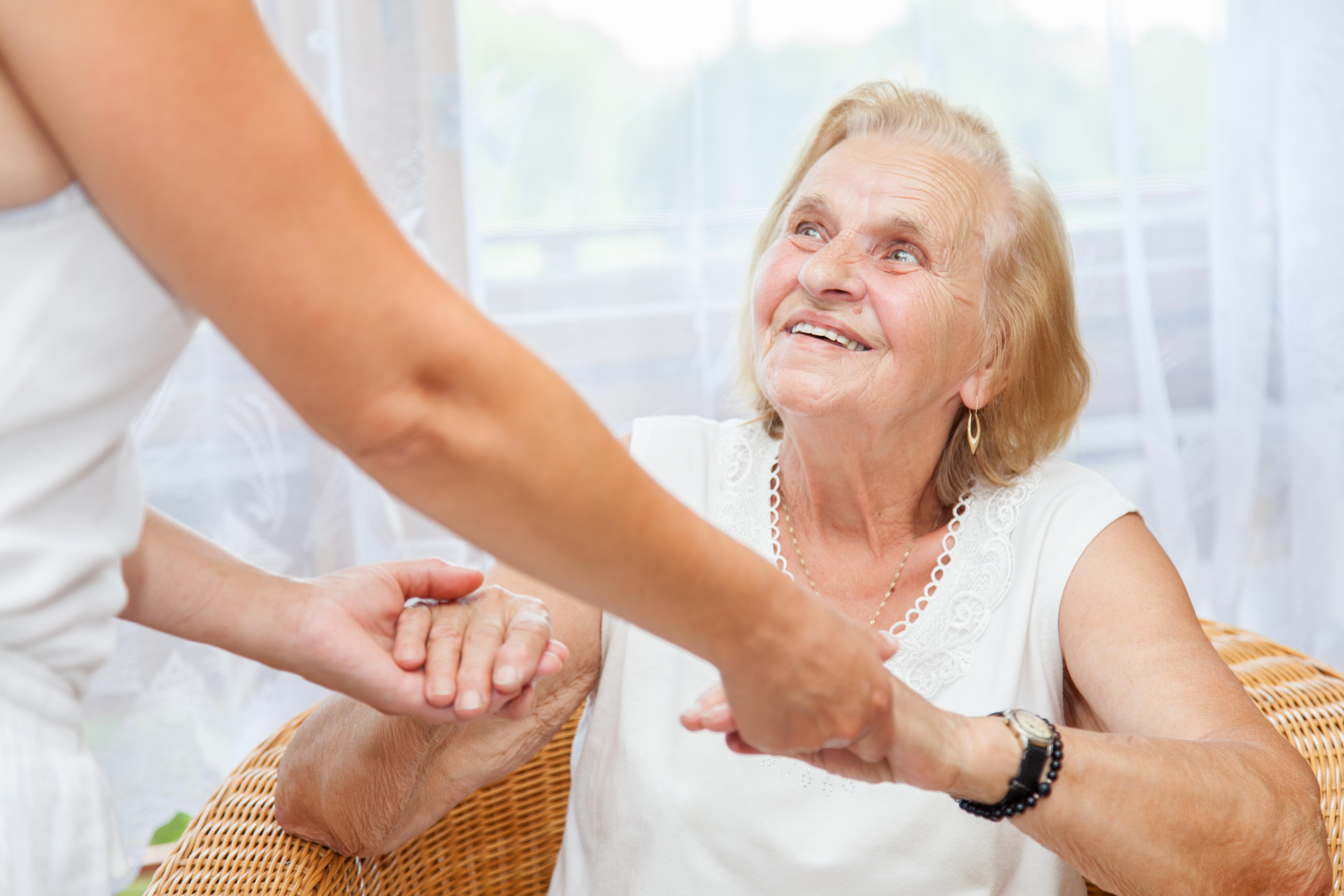 Providing care and support for elderly in coronavirus